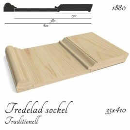Tredelad Sockel Traditionell