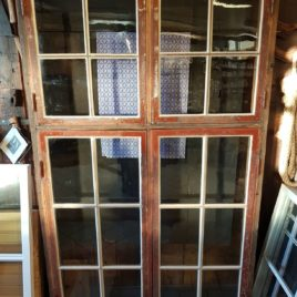 Renoverade Korspostfönster 195×116