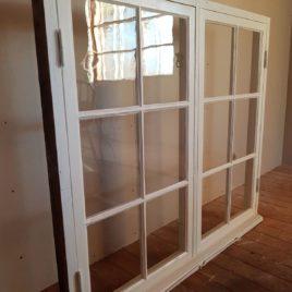 Renoverade Fönster 6 glas/båge 110x125cm