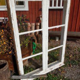 Fönster med lösa innerbågar